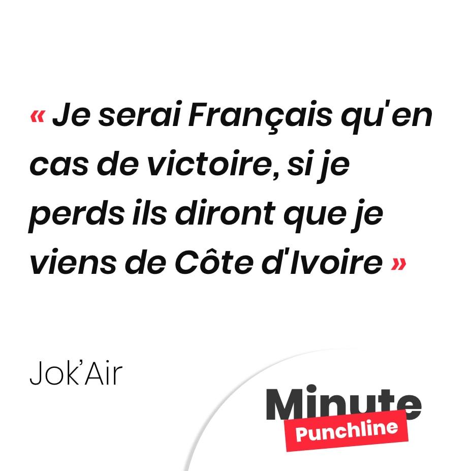 Je serai Français qu'en cas de victoire Si je perds ils diront que je viens de Côte d'Ivoire