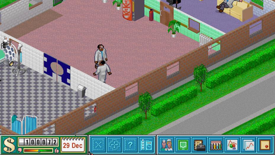 Theme Hospital Spieleklasser