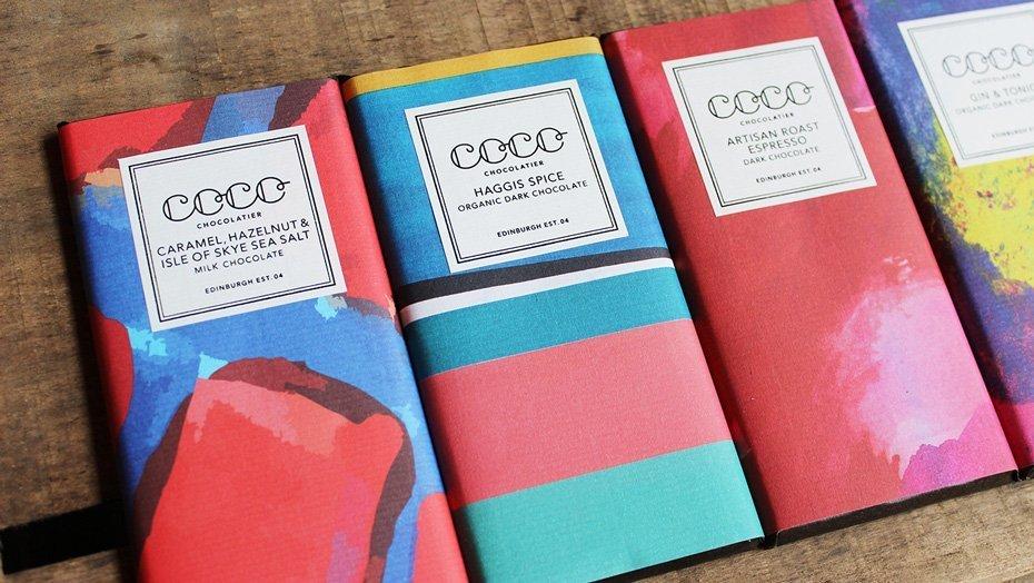 Coco of Bruntsfield Chocolate Bars