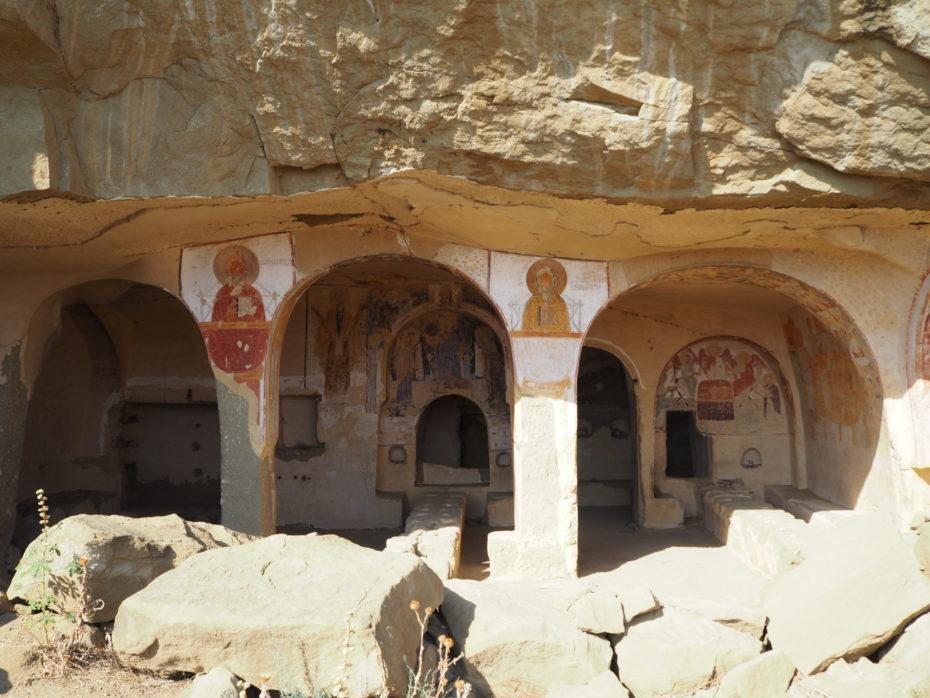 Fresques Chrétienne Géorgie