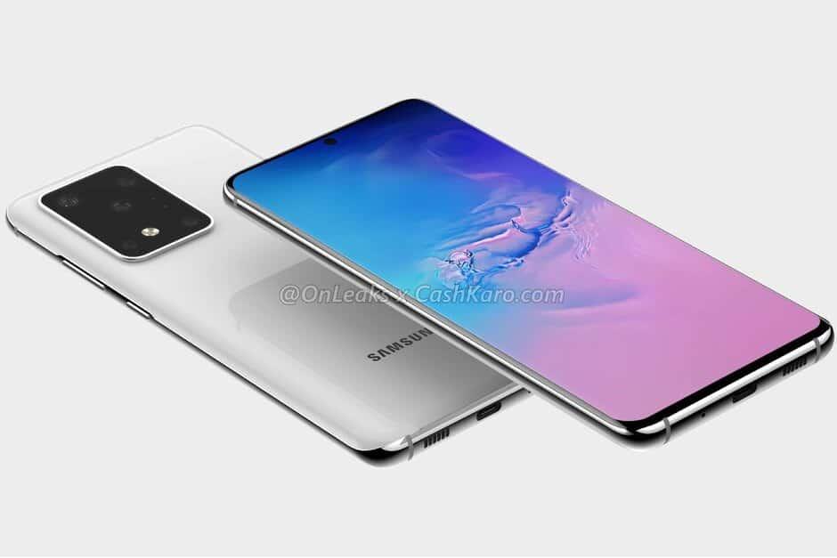 Samsung Galaxy S20 não