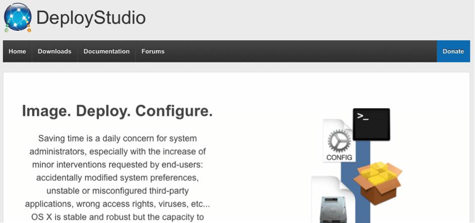 deploy studio website