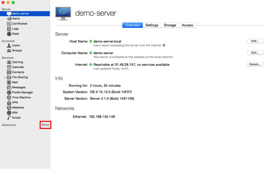 DS - 3 - Advanced Server app