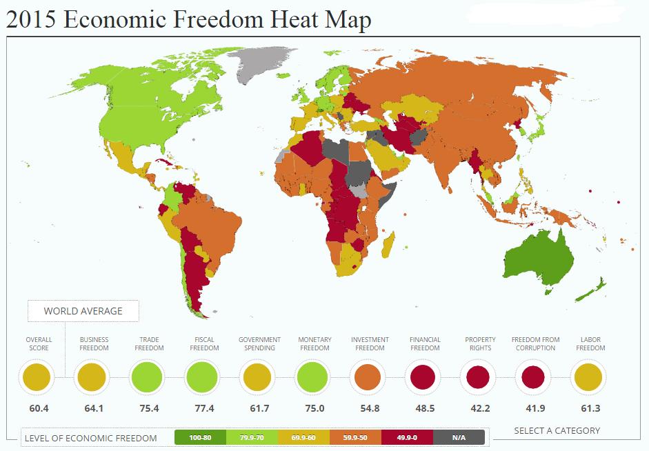 economic-freedom-heat-map