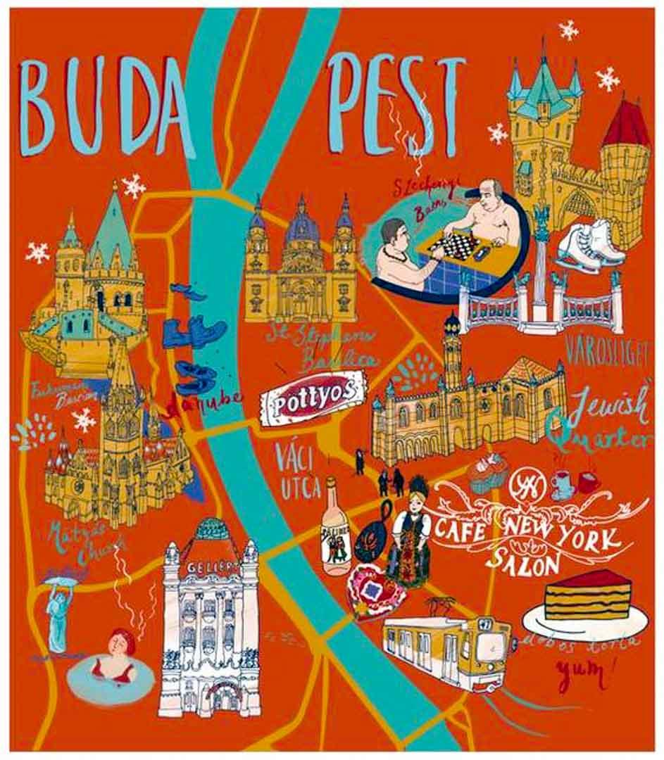 mapa-Budapest