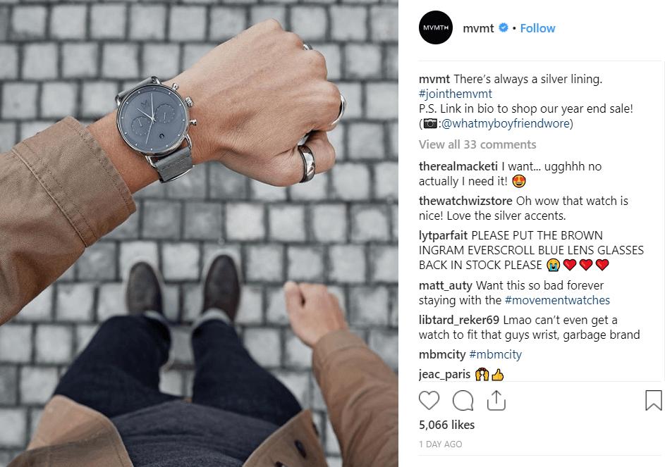 MVMT instagram Inbound Marketing for Startups