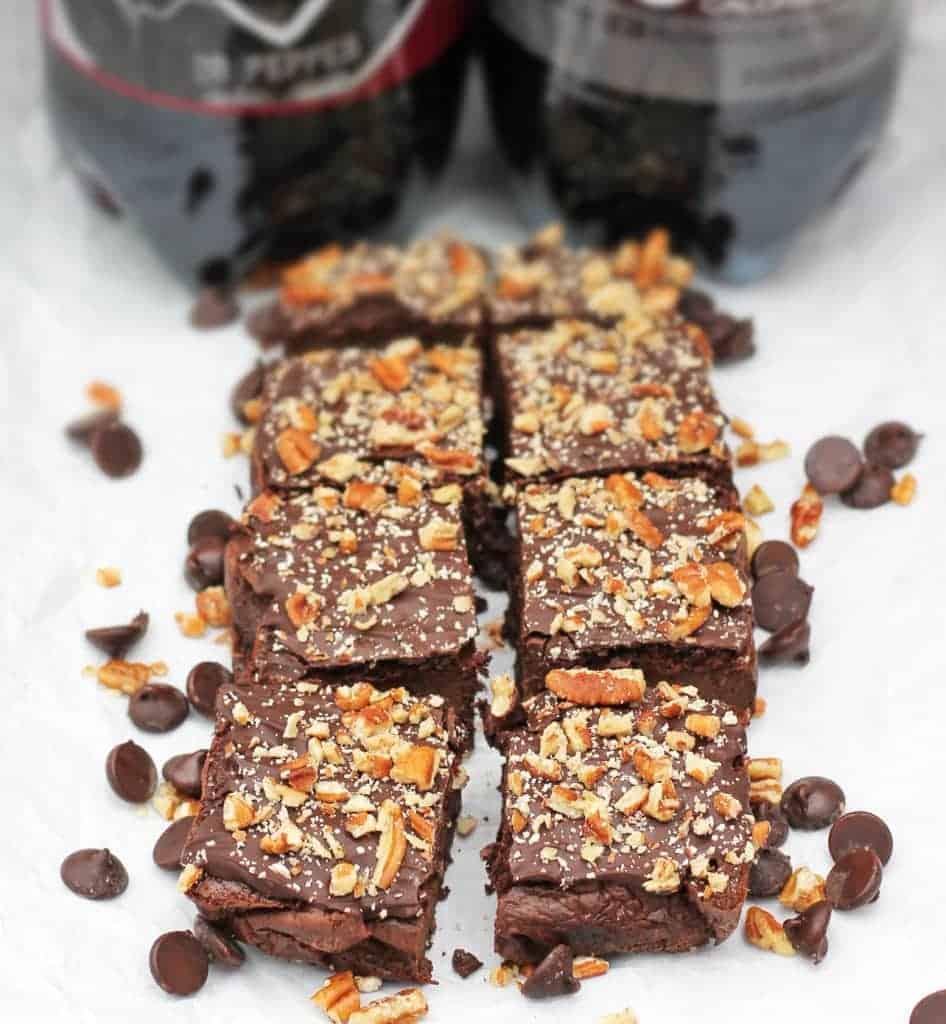 DrPepper-4Ingredient-Brownies-#PassThePepper