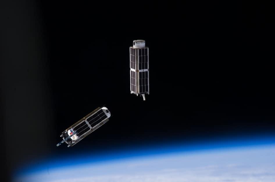 Cube sats. Image: NASA.