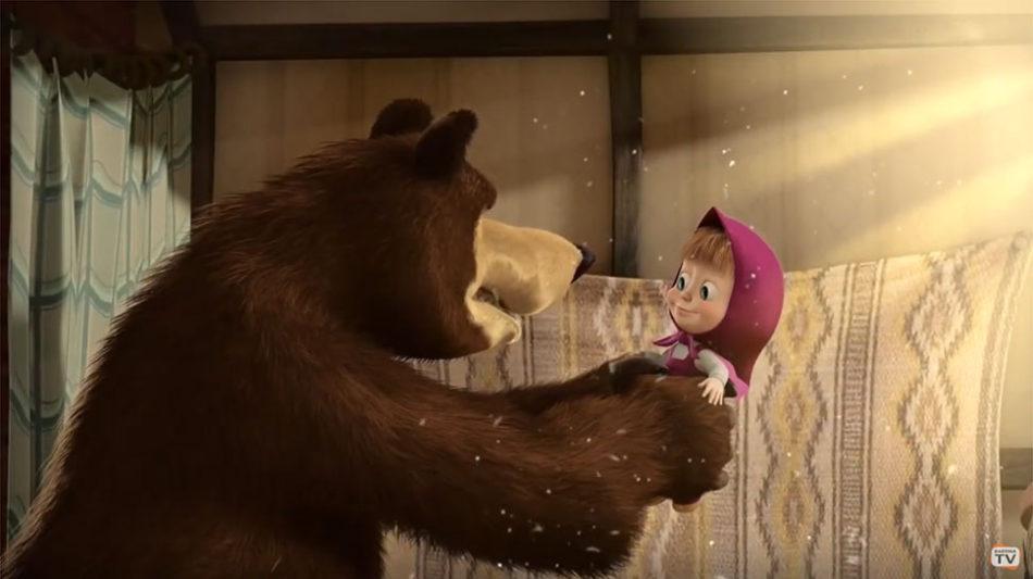Алинa Кукушкинa (Маша и медведь) рекомендует Kartina.TV