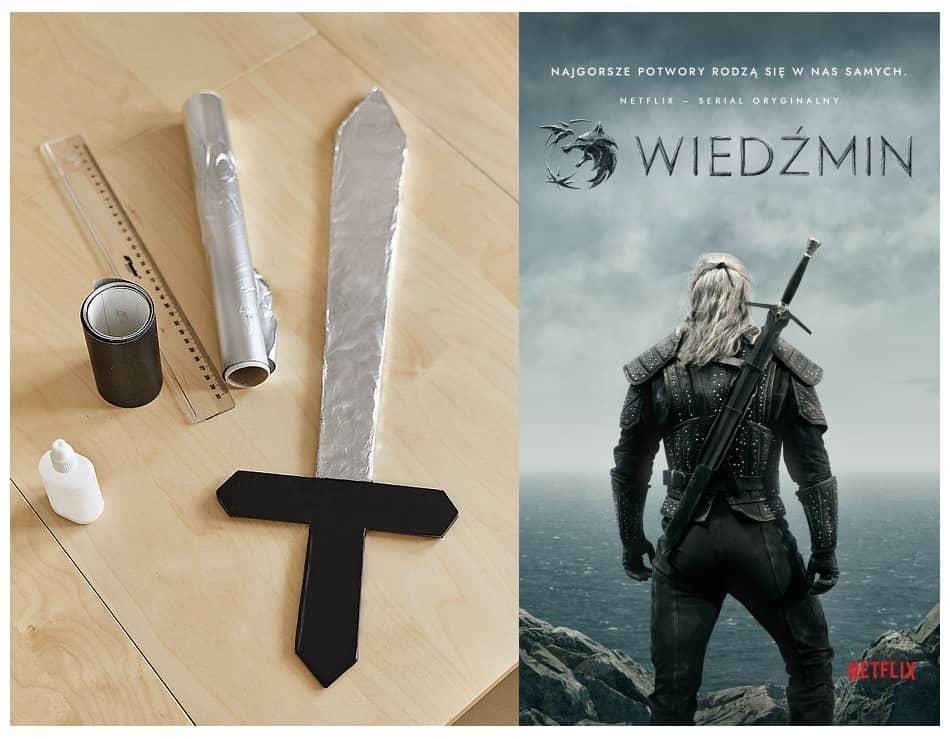 Papierowy miecz Wiedźmina
