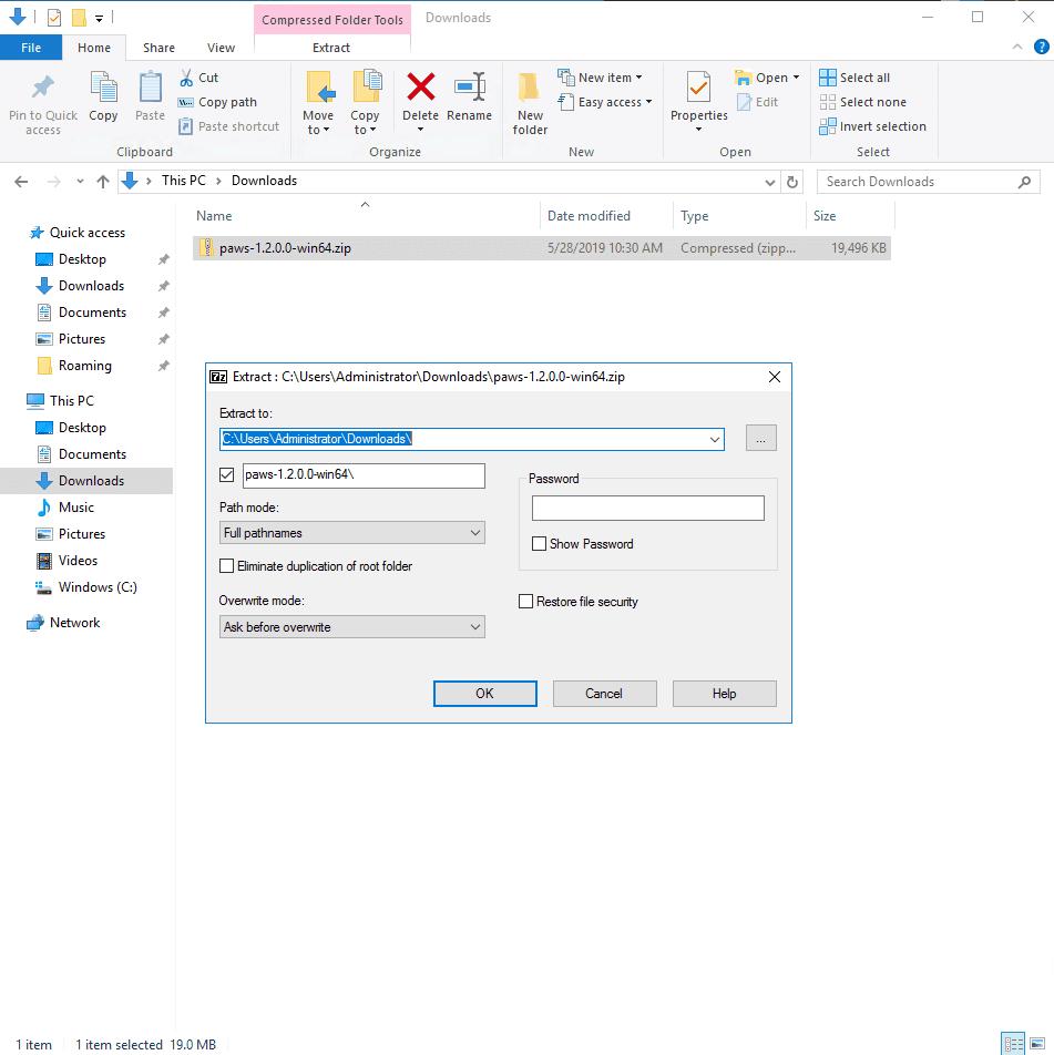 PAWS Windows VPS Masternode Setup