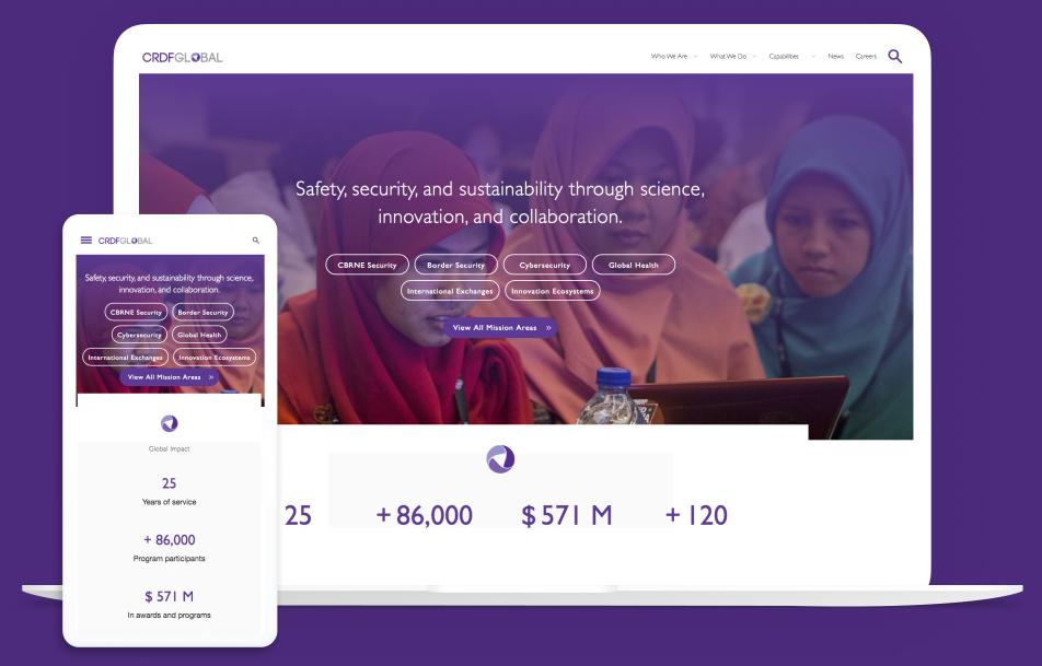 CRDF Global Homepage