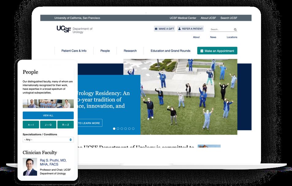 UCSF Urology Hero Image