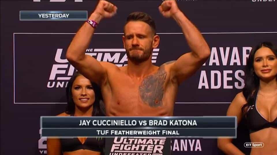 JAY CUCCIENIELLO - ULTIMATE FIGHTER - UFC - MMA - CBD OIL - CBD BRAND AMBASSADOR