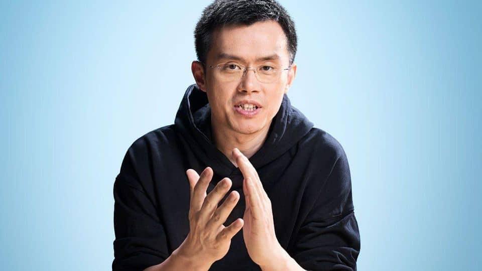 Chanpeng Zhao CEO van Binance bron:Forbes
