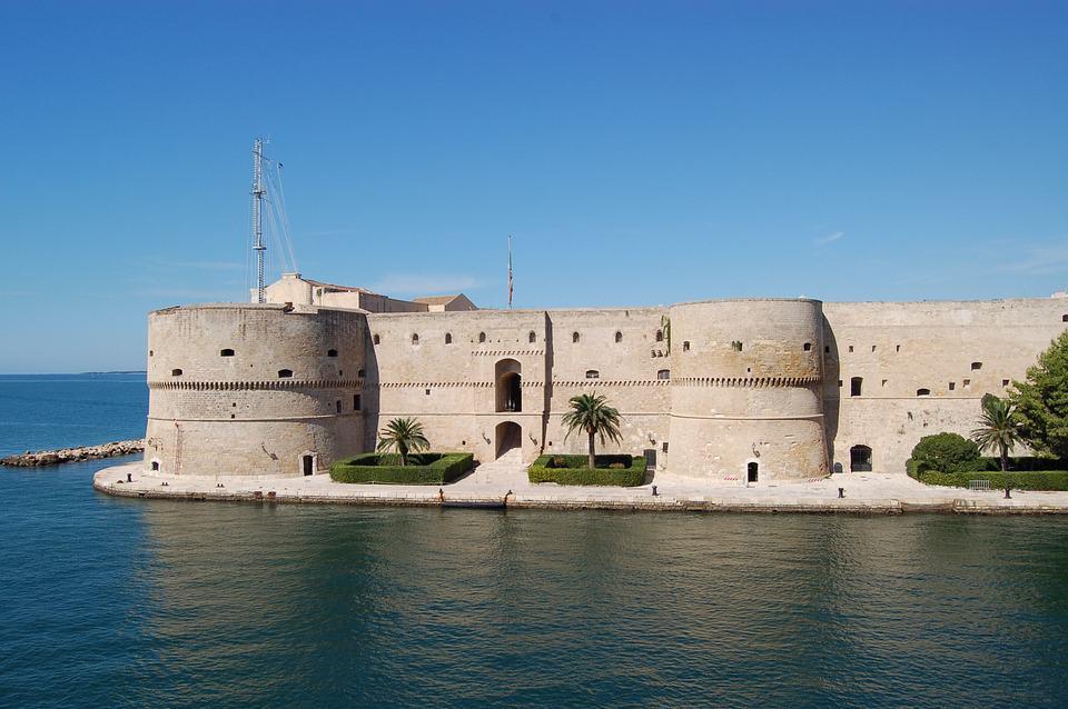 Aragon Castle in Taranto