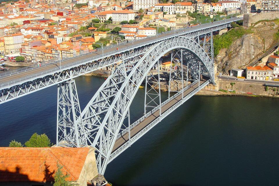 Douro Bridge built by Gustave Eiffel