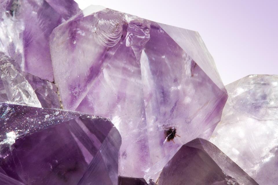 cuarzo violeta