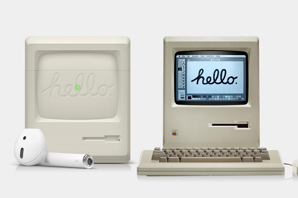 Elago's Apple Macintosh-Inspired AirPods Case