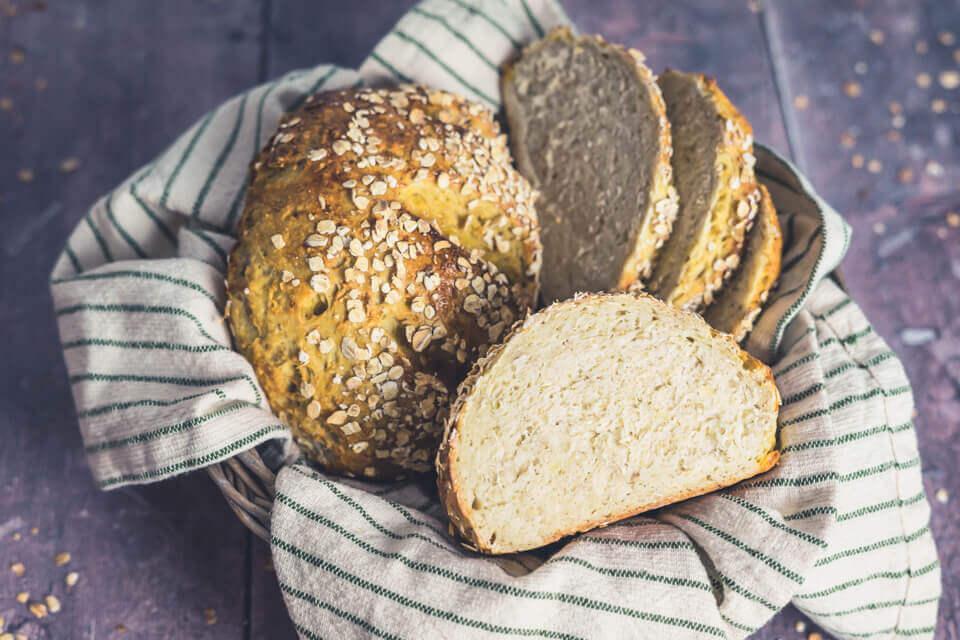 Kartoffele-Hafer-Brot