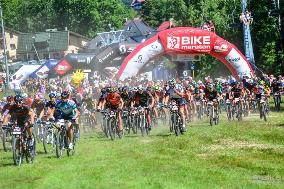 Ultra Bike Maraton Szklarska Poręba. 100+ dla Halejaka