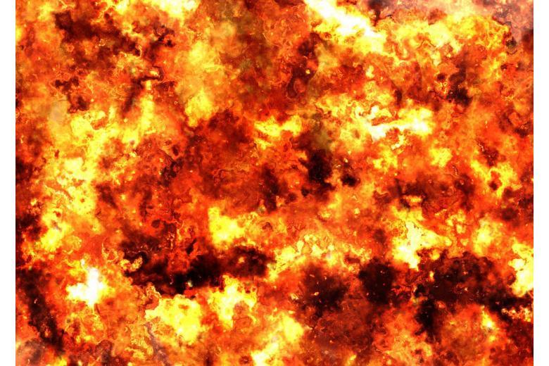 огненное пламя фото