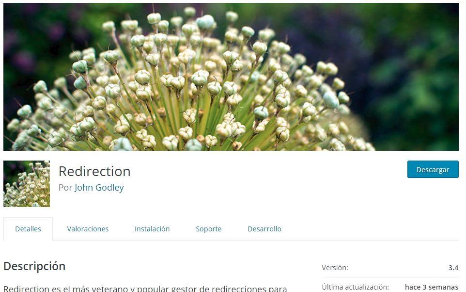 Plugin Redirection para WordPress