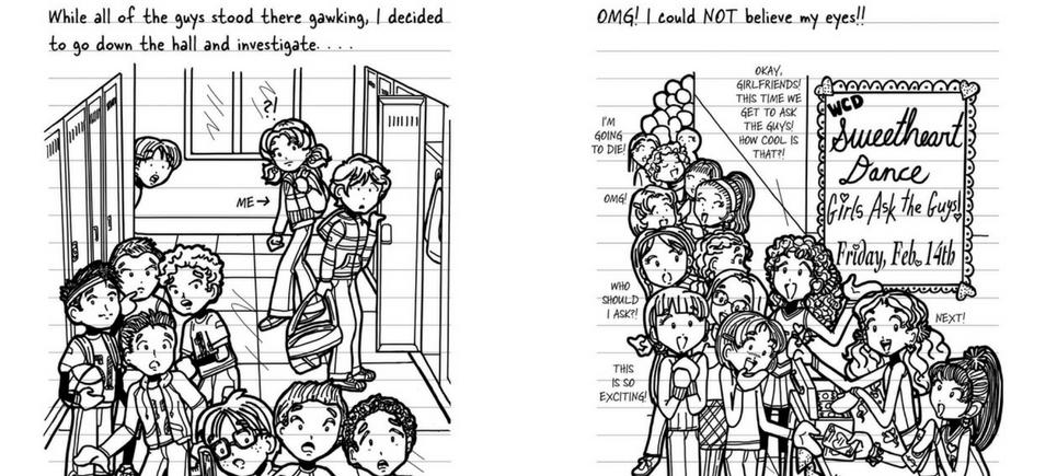 Dork Diaries 6 Illustration