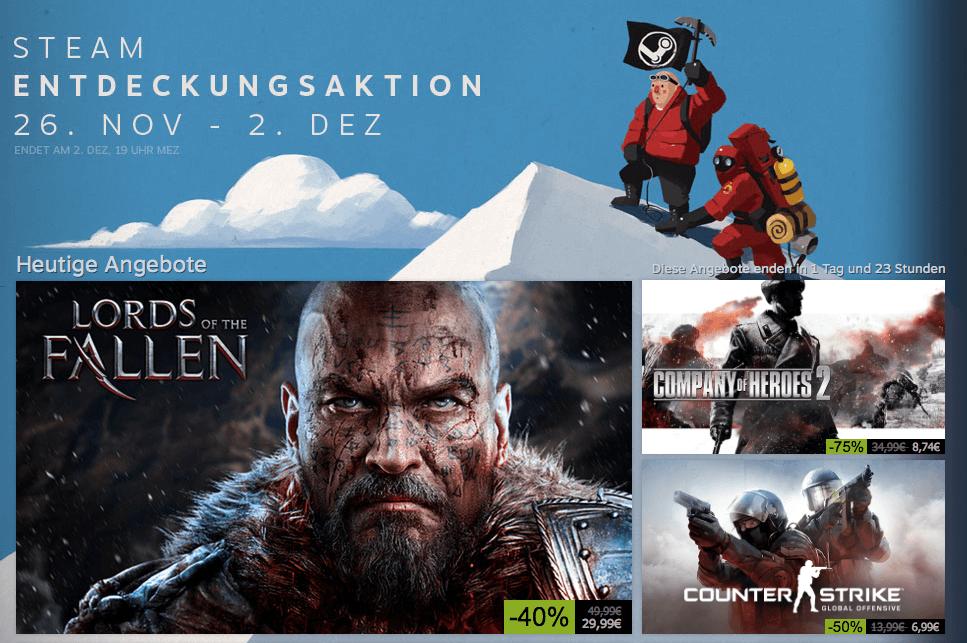 Steam Sale mit Civilization, Goat Simulator, Watch Dogs und weiteren gestartet 1