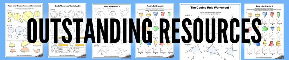 Compound Shapes Worksheets