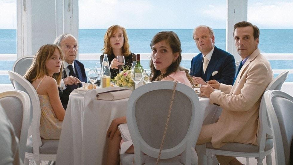 Tous les acteurs autour de la table (Happy End, Hanke)