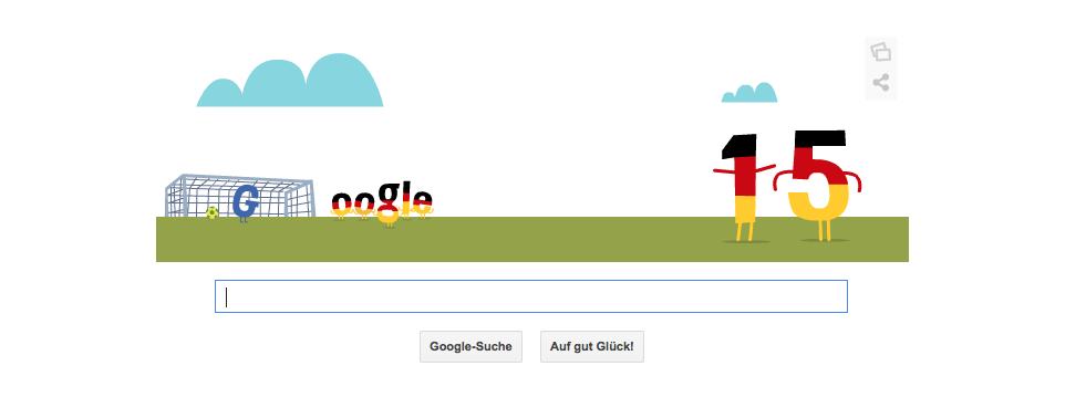 Miroslav Klose - Google Doodle (Fußball WM 2014)