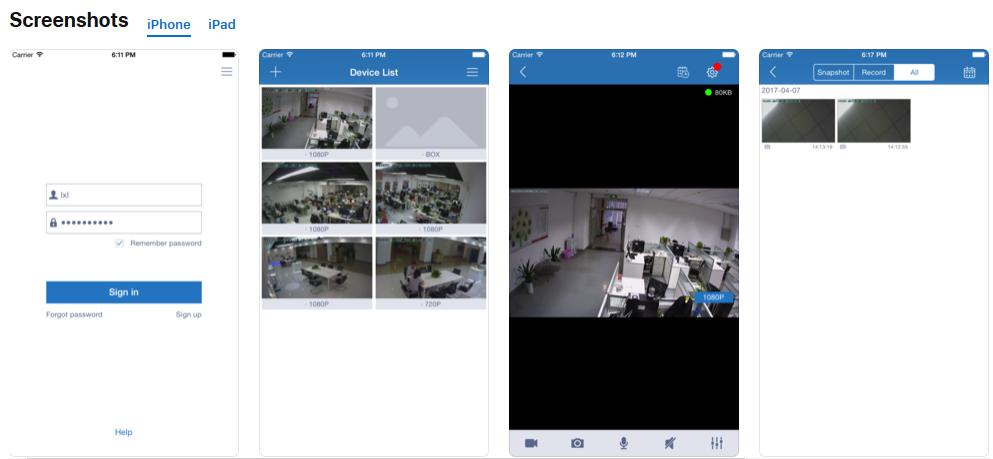 Maisi Wireless Security IP Camera