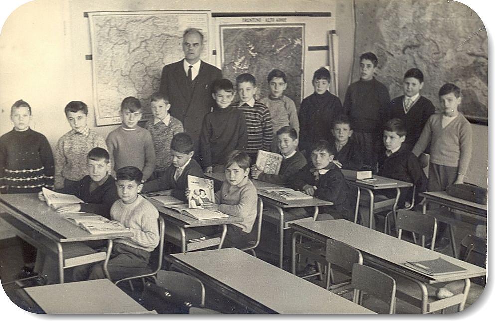 escuela en otros tiempos