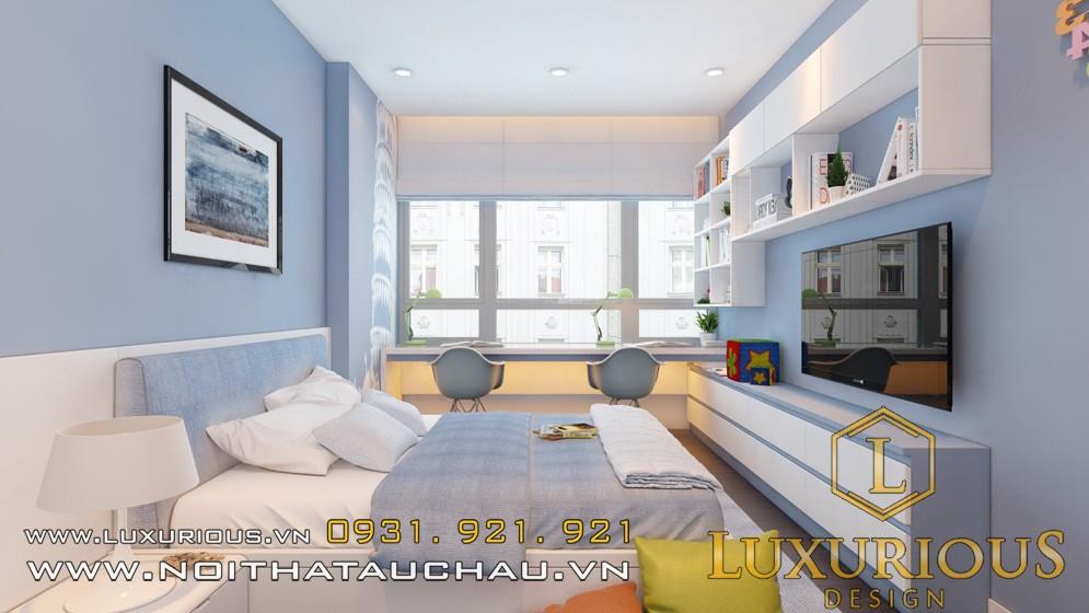 Thiết kế chung cư mandarin phòng ngủ