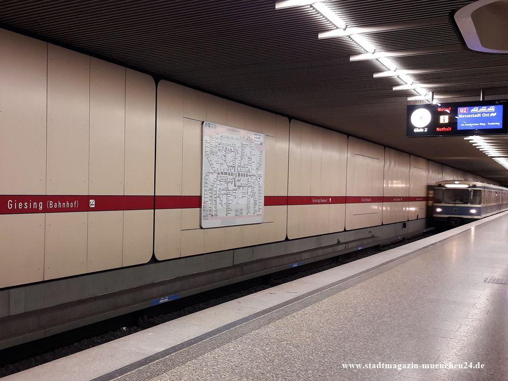 U-Bahnhof Giesing München