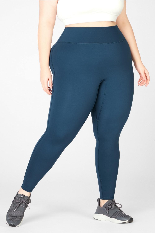 Fabletics Trinity High-Waisted Pocket Legging - Brands Like Gymshark