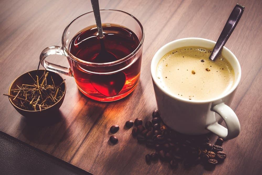 Caffeine in Coffee vs. Tea