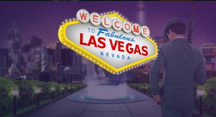 Mr Green kampagne i februar 2018 er at vin en rejse til Las Vegas!