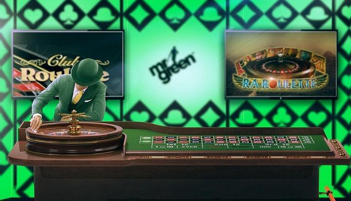 Vind en Roulette eller Blackjack Jackpot når du spiller hos Mr Green i februar!
