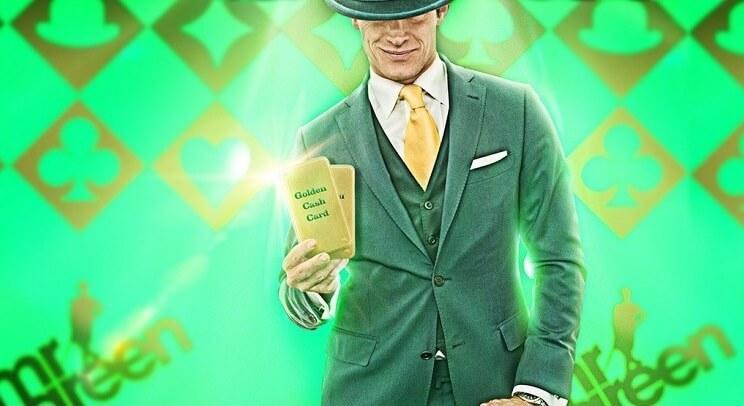 Spil Evolution Gaming spil for at vinde gyldne kort hos Mr Green