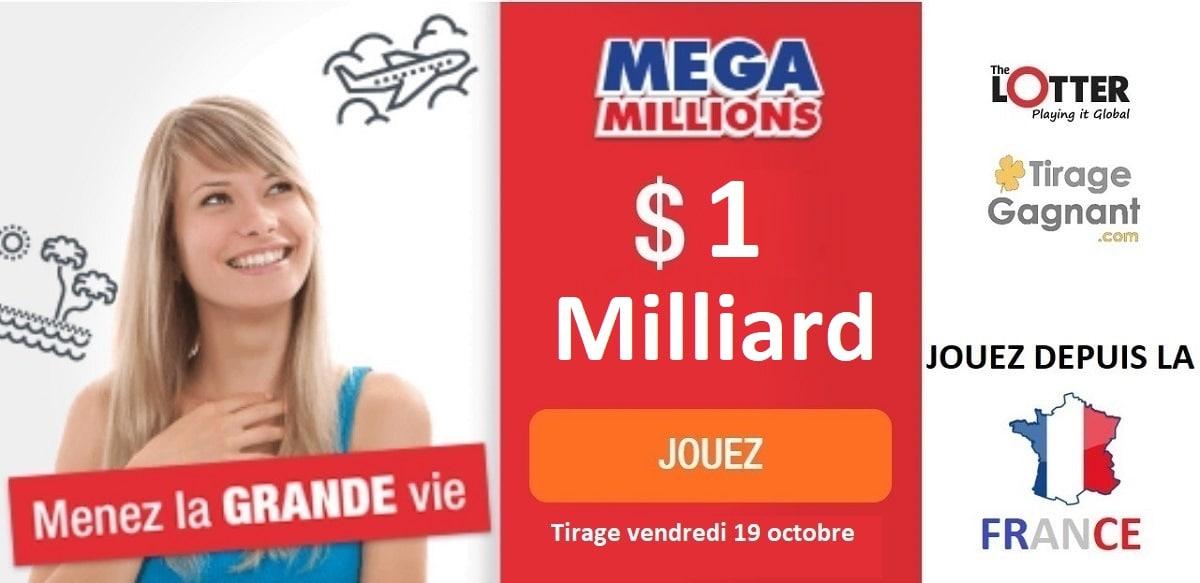 Jouer au Mega Millions pour 1 milliard de dollars