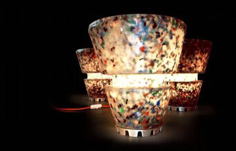 Родриго Алонсо: Лампа из отходов