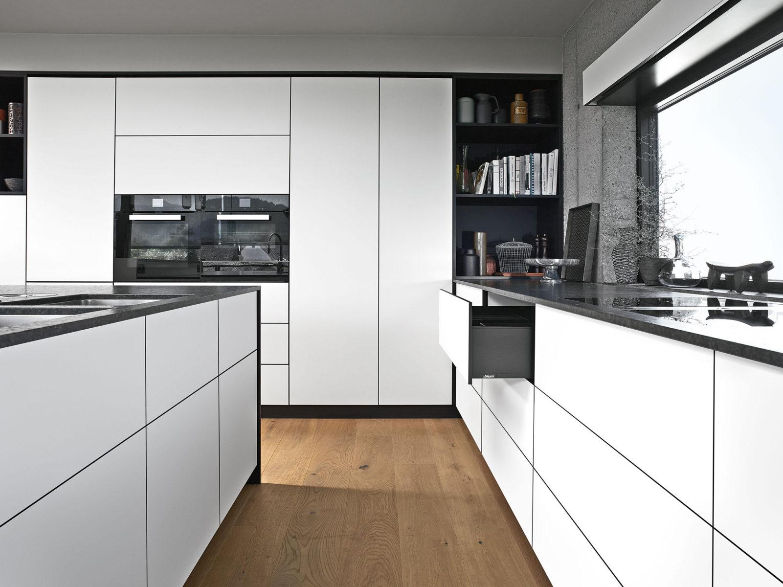 Фото кухні для натхнення. Як вироби Блюм дають змогу вдало поєднати дизайн та функціонал