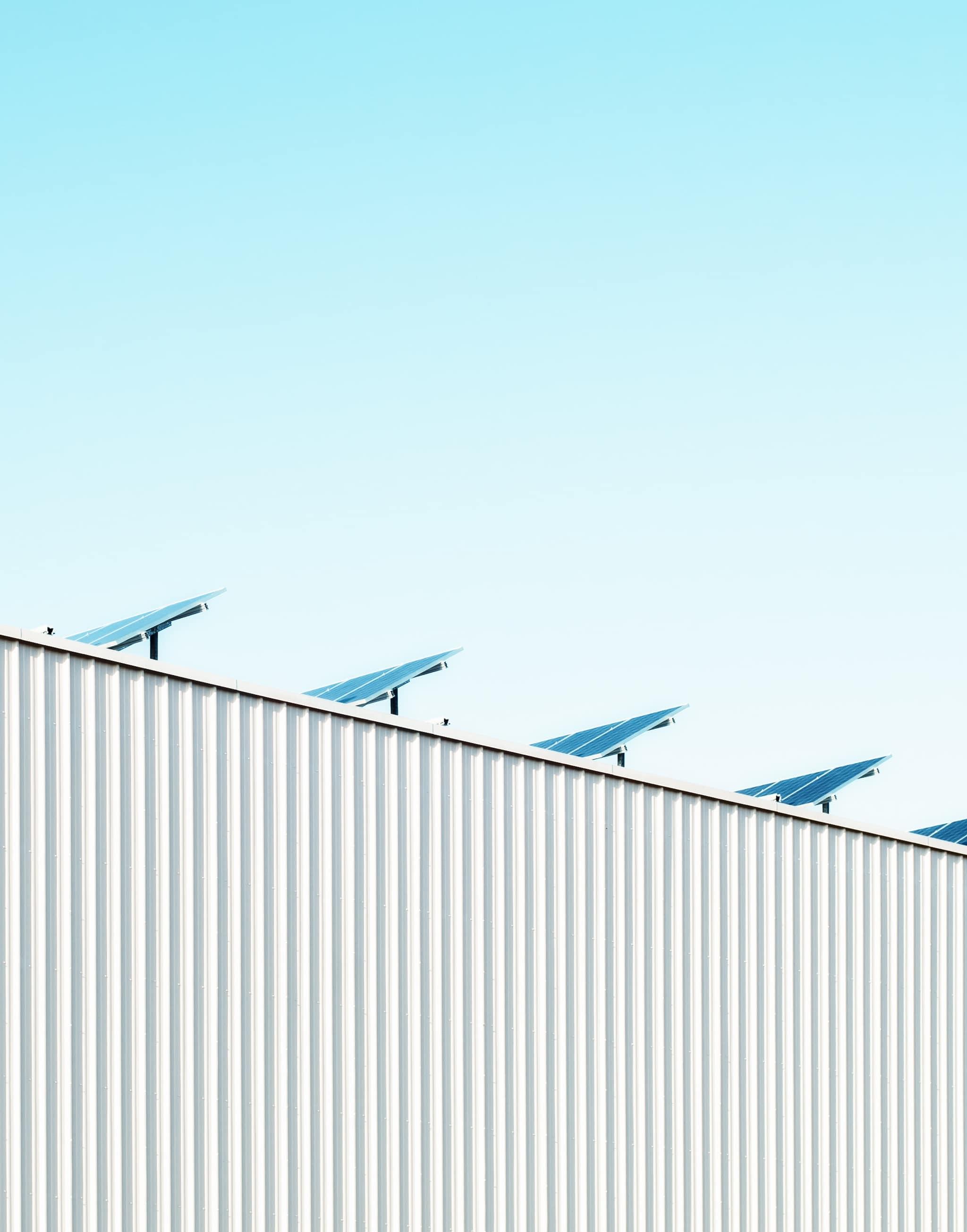 Panneaux photovoltaïques pour MGS en vue d'être une entreprise écoresponsable