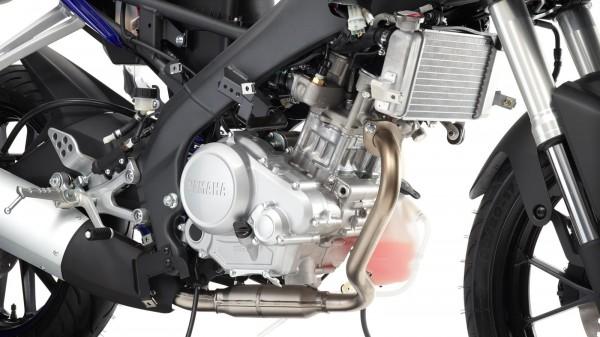 Yamaha's 2015 YZF-R125 c