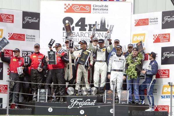 SLS AMG GT3 Customer Motorsports 2015, 24h Barcelona