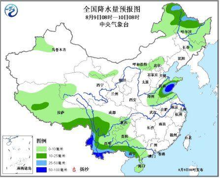 江南江淮江汉等地高温持续 云南四川有较强降水