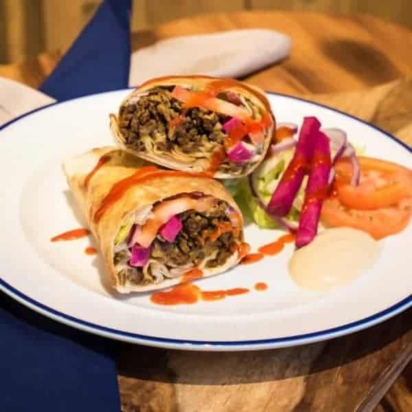#3 - Regular Beef Shawarma Wrap
