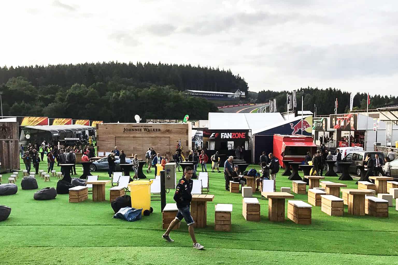 Aménagement de la Fan Zone F1 par So Event